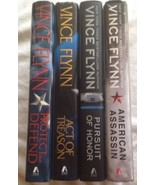 Vince Flynn Lot of 4 First Printings Hardcover Books - $33.36