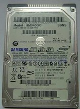SAMSUNG HM040GC 40GB 2.5 inch IDE Drive Tested Good Free USA Shipping