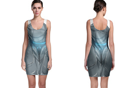 Silverhawks - Steel Heart Bodycon Dress - $19.80+