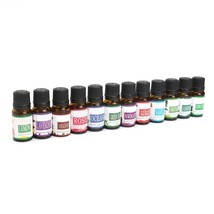 12 Bottles SPA Plant Essential Oils With Aromatic Aromatherapy Essential... - $37.39