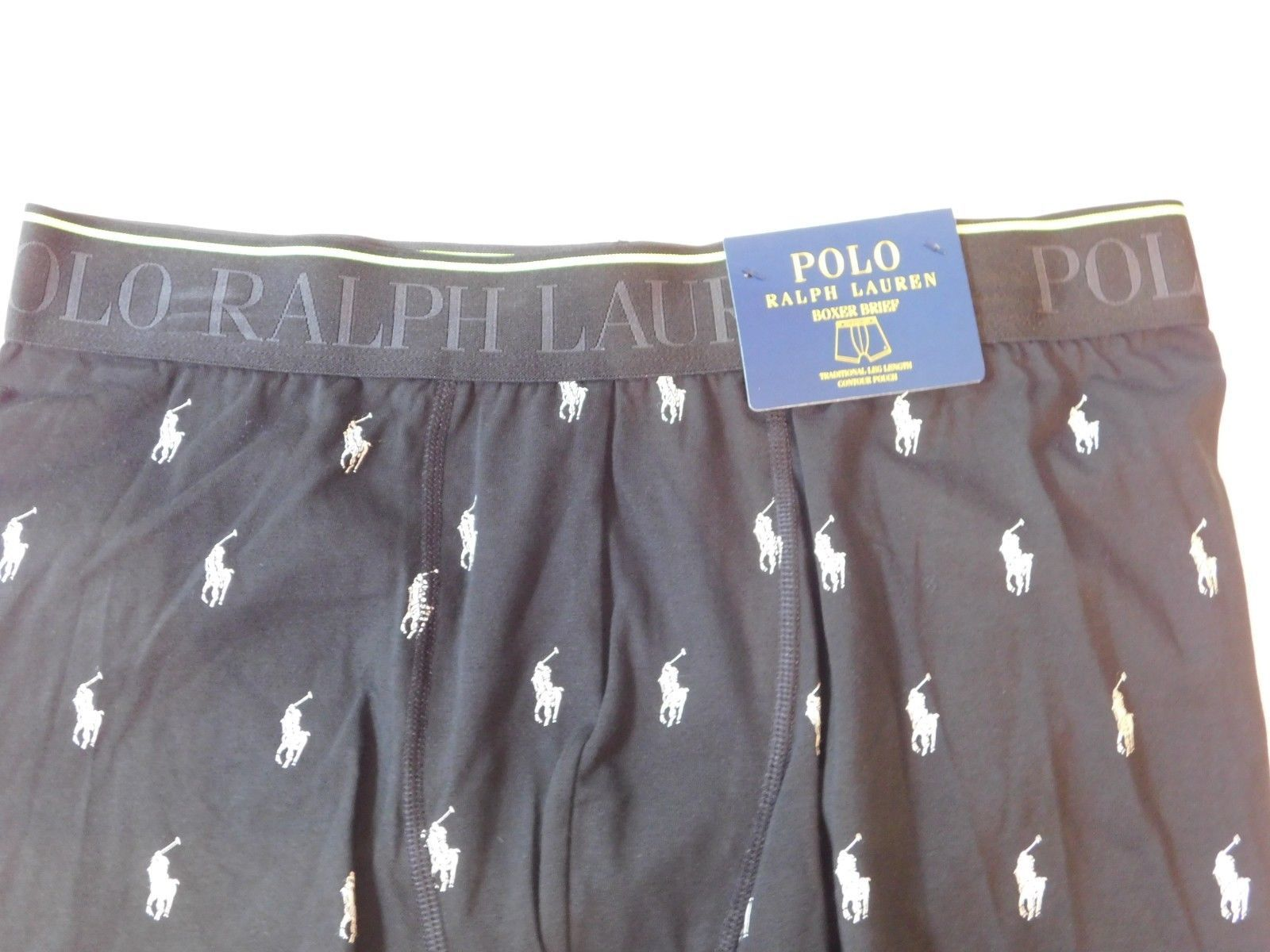Polo Ralph Lauren underwear men's Boxer Brief Traditional Leg Length L 71S
