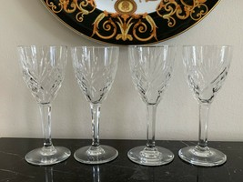 St Louis Crystal France Chantilly Clear Sherry Glass Set of 4 - $199.00