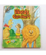 Words Can Hurt Critter County Childrens Vintage Book Hardcover Paula J B... - $94.99