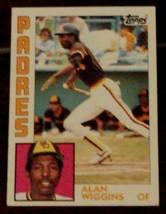 Alan Wiggins, Padres, 1984 #693 Topps  Baseball Card - GD COND - NICE CARD - $3.95