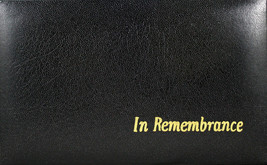 "In Remembrance Portable Communion Set Black Case 7 1/2"" x 4 3/4"" x 1 3/4"" - $25.80"