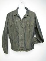 Ralph Lauren Polo Jean's Co Black Denim Jacket Men's Size Large Trucker  - $33.08