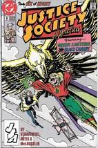 Justice Society of America Comic Book Mini-Series #6 DC 1991 VERY FINE+ - $2.50