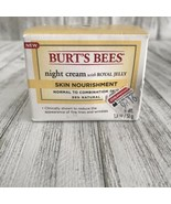 Burts Bees Intense Hydration Night Cream with Clary Sage 1.8 oz for Dry ... - $19.79