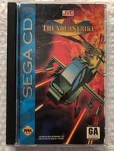 ☆ AH-3 Thunderstrike (Sega CD 1993) NEAR Complete in Case Game Tested Wo... - $13.00