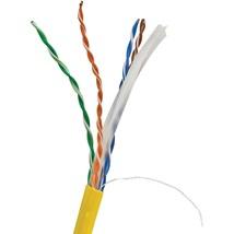 Vericom Cat-6 Utp Solid Riser Cmr Cable, 1,000ft (yellow) TCTMBW6U01445 - $202.90