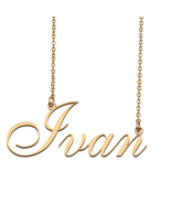 Ivan Custom Name Necklace Personalized for Mother's Day Christmas Gift - $15.99+
