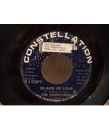 "ORIGINAL DJ COPY ""ISLAND OF LOVE"" THE SHEPPARDS 45rpm DOO WOP STATION ST... - $25.00"