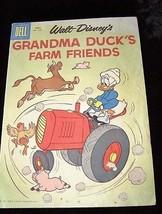 Walt Disney Grandma Duck's Farm Friends Comic Book Dell April 1961 - $12.99