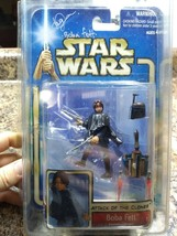 Star Wars SIGNED DANIEL LOGAN Boba Fett Kamino Escape Action Figure - $42.04