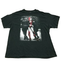 BATMAN Harley Quinn Shirt Size 2XL XXL Adult Black Regular Fit DC Comics... - $17.83