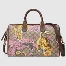 NWT GUCCI BENGAL TIGER GG BOSTON BAG HANDBAG 409527 Authentic  - £1,317.67 GBP