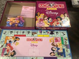 Monopoly Junior Disney Princess Edition Parker Brothers COMPLETE - $14.00