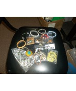 # HUGE LOT of assorted jewelry types great amount for the price Lot BZ40... - $6.89