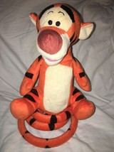 Just Play Collectible Disney TIGGER Electronic Talking Bouncing Plush To... - $21.99