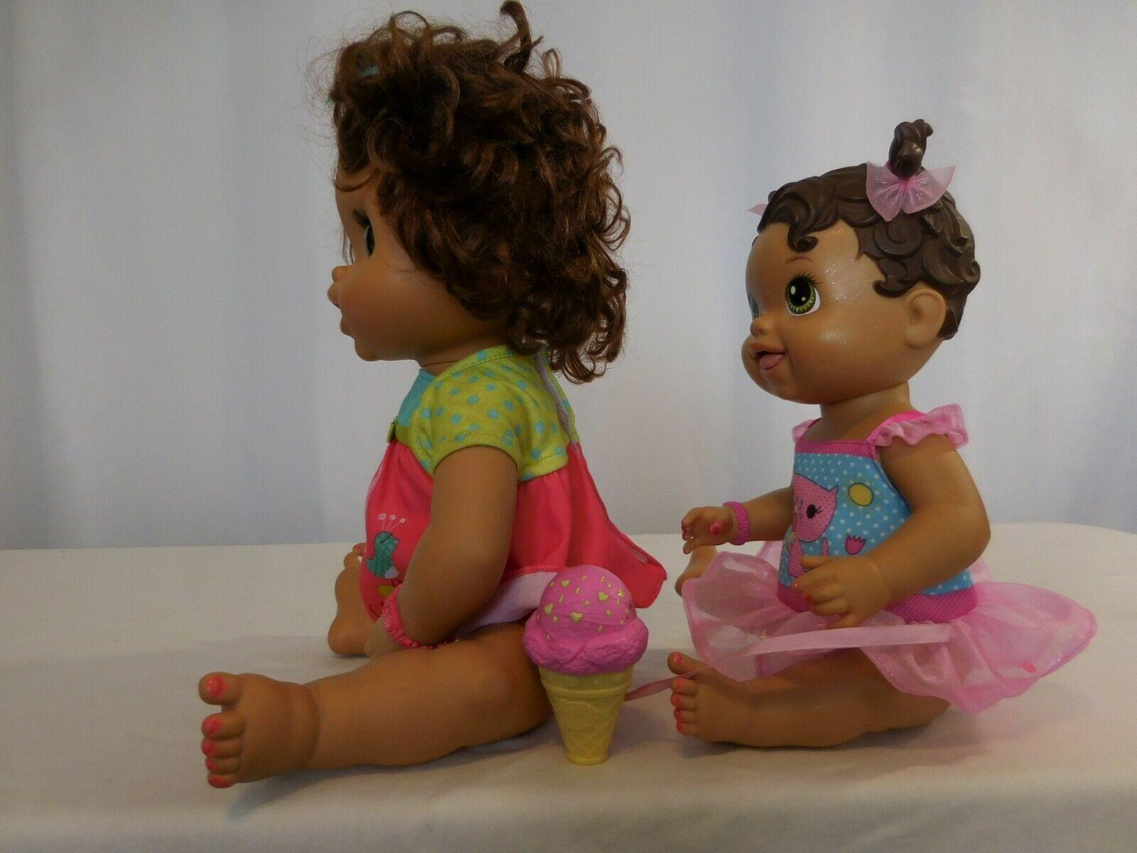 Baby Alive Hispanic Interactive Doll Eats & Poops + Yummy Treats Licks Ice Cream image 11