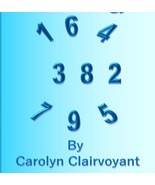 Numerology Forecast - $10.00