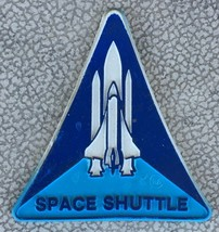 Vintage classic NASA Space Shuttle Refrigerator Rubber Magnet - $14.95