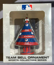 Chicago Cubs Team Bell Ornament Sports Collectors Series Offically Licensed - $9.85
