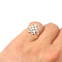 Silver Mystic Knot Ring - $35.00