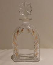 "LYS BLEU LE PRINCE HENRI D'ORLEANS EMPTY PERFUME BOTTLE 6 3/4"" TALL - $40.00"