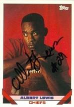 Albert Lewis autographed Football Card (Kansas City Chiefs) 1993 Topps #224 - $16.00