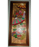 1970's Original Vintage Handpainted Monotype Collectible Art by Vietname... - $79.99