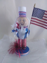 Handmade Glass Uncle Sam - $45.95