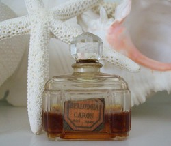 Vintage BELLODGIA Perfume by Caron~1/2 oz~RARE~Bottle Marked France~Coll... - $159.99