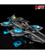 LED Light Kit for The SHIELD Helicarrier - Compatible with Lego 76042 Set - $54.99