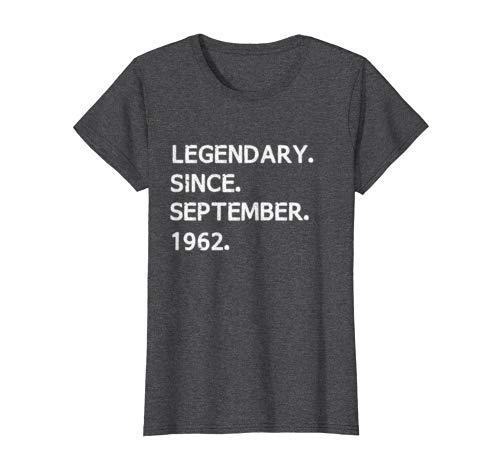 Legendary Since September 1962 - Virgo Zodiac T-Shirt Women
