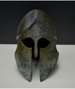 Helmet bronze aged Corinthian solid type - $499.00