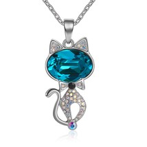 Jewelry Gifts for Women Necklace with Swarovski Crystals Pendant for Val... - $189.75
