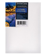 Artist Canvas 5x7 2pc stretched cotton canvas for painting oil or acrylic - $6.99