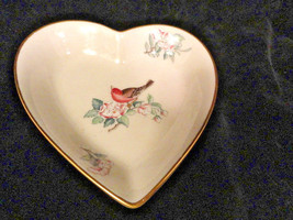 Lenox Serenade Heart Dish 4 1/4 by 4 3/4 Inches... - $9.99