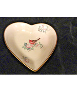 Lenox Serenade Heart Dish 4 1/4 by 4 3/4 Inches Mint - $4.99