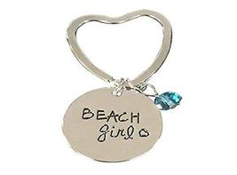 Infinity Collection Beach Girl Keychain, Life is Better at the Beach Key... - $9.99