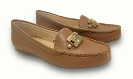 Kate Spade Carmen Loafer Women's Leather/Brown/Gold(1350018) Size:US 6 M - $54.99
