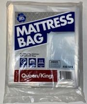 "PLASTIC MATTRESS BAG (523573) SIZE (78""x14""x100"") FITS QUEEN/KING W/PILL... - $13.37"