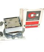 Up to 5 Cutler-Hammer Compact Pushbutton Catalog No. E30AA NIB - $39.90