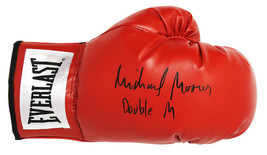 Michael Moorer Signed Everlast Red Boxing Glove w/Double M - Schwartz - $98.01