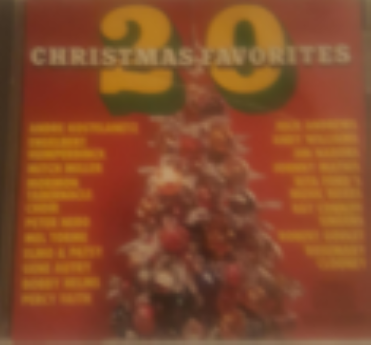 20 Christmas Favorites Cd