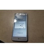 LG Aristo LG-M210 16GB Silver (T-Mobile) as is for parts not fully teste... - $22.76