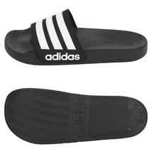 Adidas CF Adilette Slides Sandals Slipper Black/White AQ1701 - $36.99+
