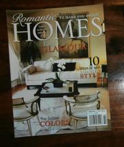 Romantic Homes Magazine October 2009 Easy Glamour - $6.89