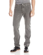 NEW LEVI'S 501 MEN'S ORIGINAL FIT STRAIGHT LEG JEANS BUTTON FLY GRAY 501-2149